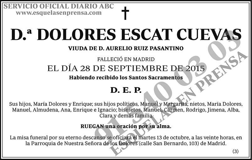 Dolores Escat Cuevas